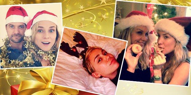 So feiern die Stars Weihnachten