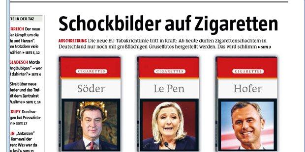 Ausland schockiert über FPÖ-Siegeschance