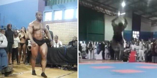 Bodybuilding-Weltmeister stirbt bei Salto