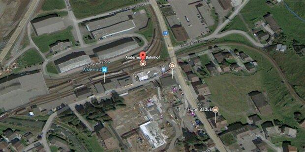 Zugunglück in der Schweiz: Viele Verletzte