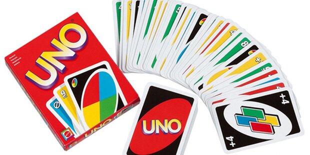 Sie haben Uno immer falsch gespielt