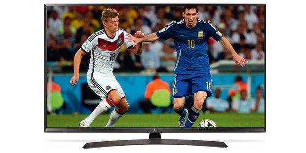 Preisschlacht um WM-Fernseher