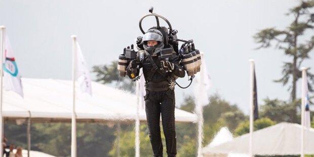MotoGP: Jet-Pack-Pilot in Spielberg abgestürzt