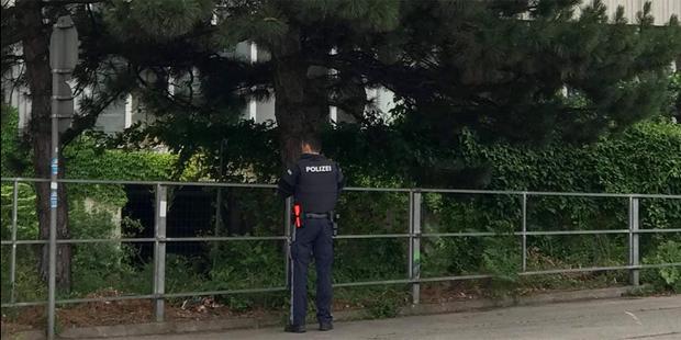 Polizei Geisterhaus Wien
