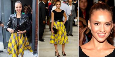 Stil-Königin der Fashion Week in NY