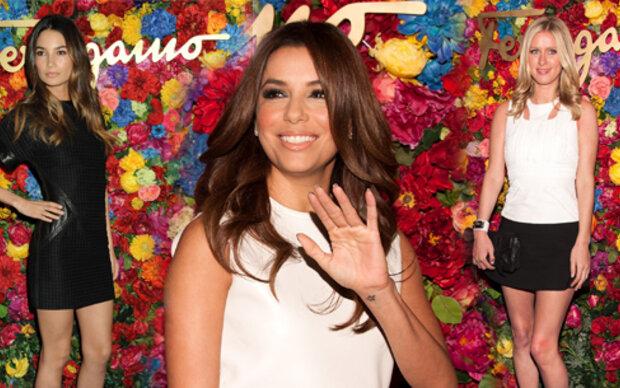 Superstars feiern das Kultlabel Ferragamo