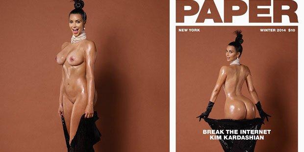 Kim Kardashian: Jetzt ganz nackt