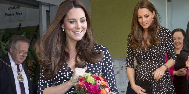 Kate plaudert Geburtsdatum aus