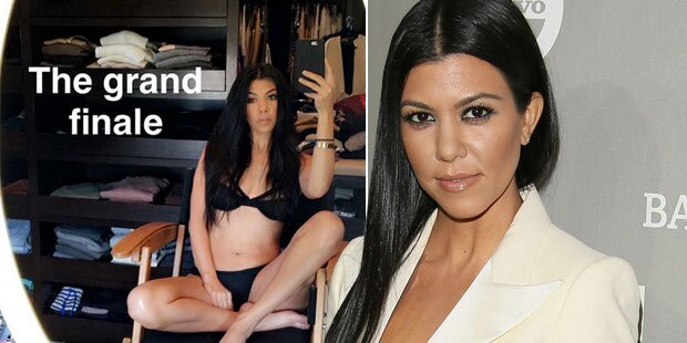 Kourtney Kardashian: Sexy Dessous-Selfie