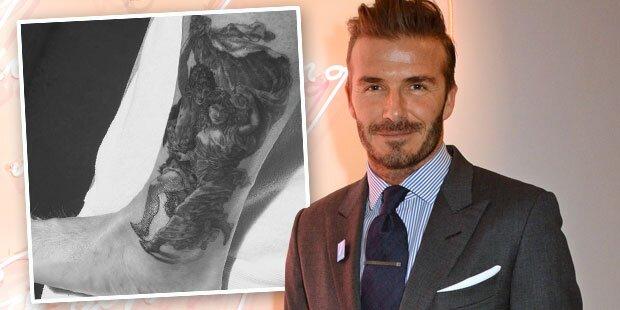 David Beckham: Dafür saß er fünf Stunden
