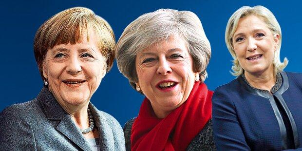 Diese Power-Frauen regieren die ganze Welt