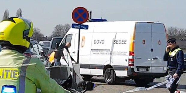 Anschlag in Antwerpen vereitelt: Terrorfahrt geplant