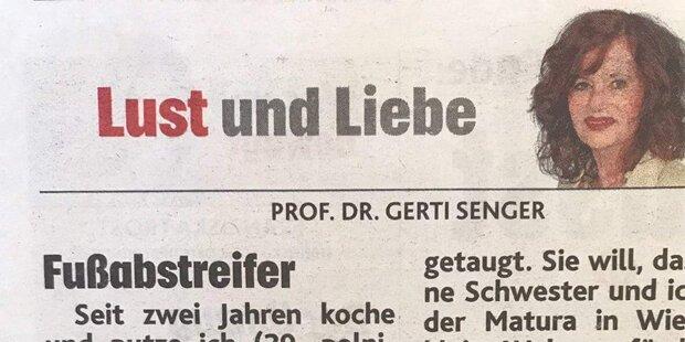 Gerti Senger rät Sexopfer in