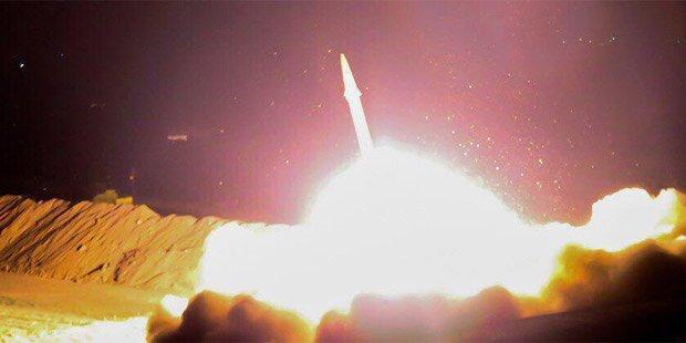 Iran bombardiert ISIS-Stellungen in Syrien