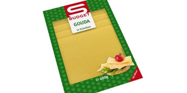 Plastik im Käse? Spar ruft Gouda zurück