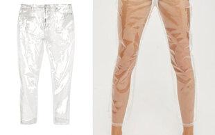 Wer soll das bitte tragen?: Die irrsten Jeans-Trends der Saison