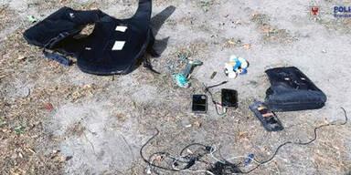 Falscher Attentäter hatte unheimliches Gepäck mit