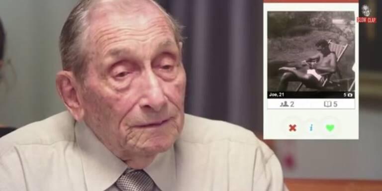 Enkel schickt Opa auf Tinder Dates