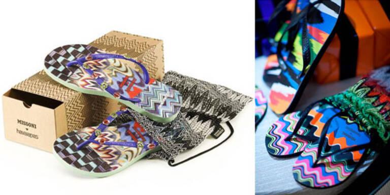 Missoni designt Flip-Flops für Havaianas