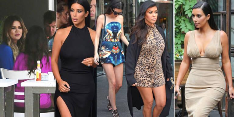 So gehen die Kardashians zum Lunch