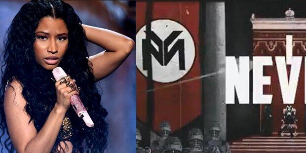 Nicki Minaj: Clip mit Nazi-Symbolen
