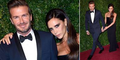 Die Beckhams: Stilsicher am Red Carpet
