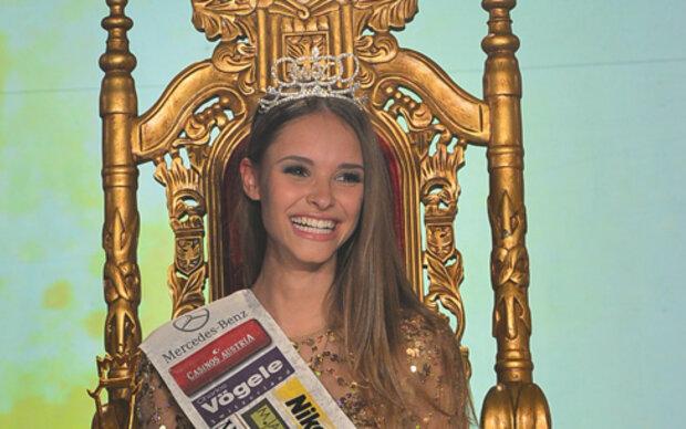 Die frischgebackene Miss Austria 2014