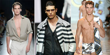 Menswear Fashion Week Mailand Frühling/Sommer 2015
