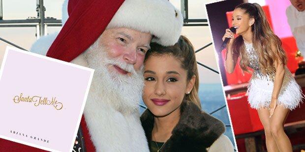 Ariana Grande nimmt X-Mas-Song auf