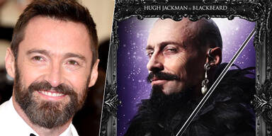 "Hugh Jackman in ""Pan"""