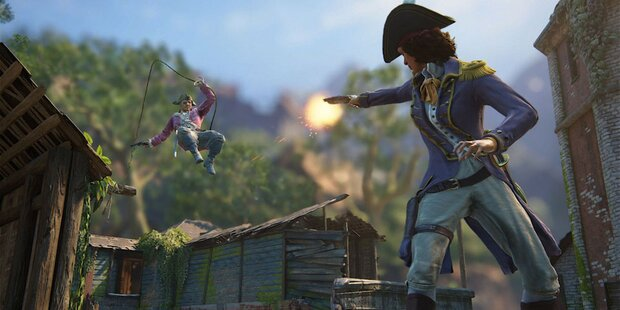 1. großes Update für Uncharted 4