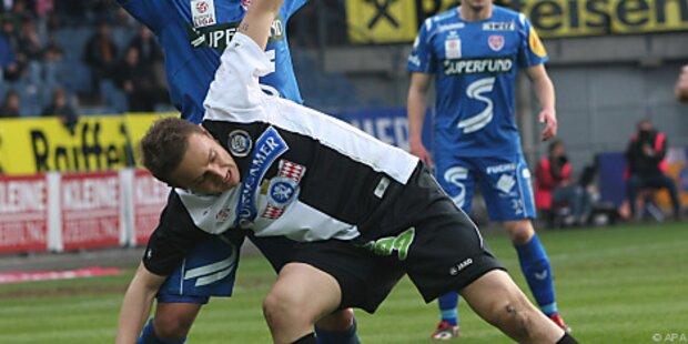 Sturm Graz gegen Kapfenberg im Derby nur 1:1