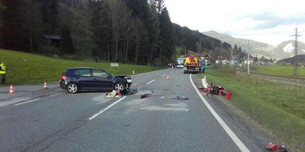 Motorradfahrer stirbt auf der B320
