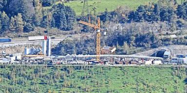 Unfall Brennerbasistunnel
