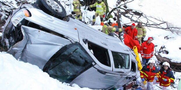 Hündin rettet Autofahrer das Leben