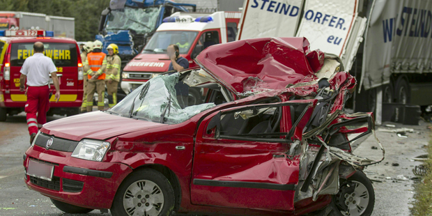 Unfall Südautobahn