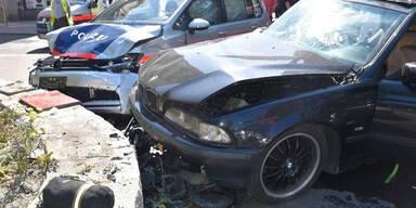 7 Verletzte bei Unfall mit Wiener Polizei-Auto
