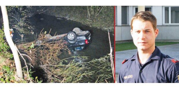 Polizeischüler (23) wurde Lebensretter