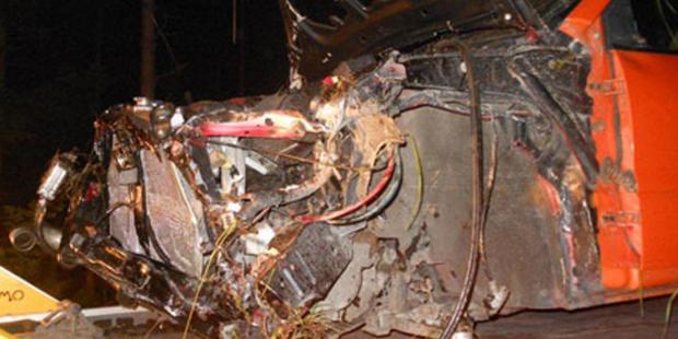 Illegales Autorennen fordert Schwerverletzten