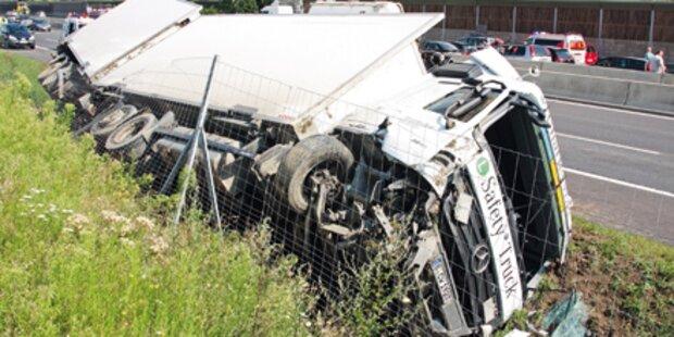 Immer mehr Unfälle mit Schrott-Lkws