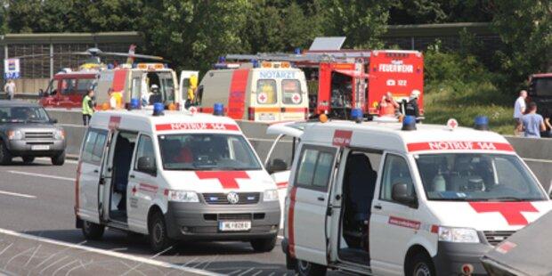 96-Jähriger bei Verkehrsunfall gestorben