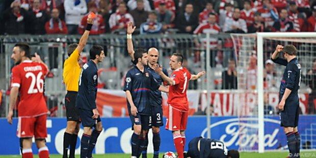 Ribery muss auch im CL-Endspiel zuschauen