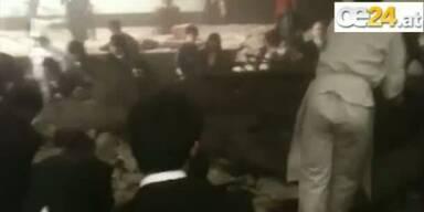 Während Feier in Tokio bricht Hoteldach ein