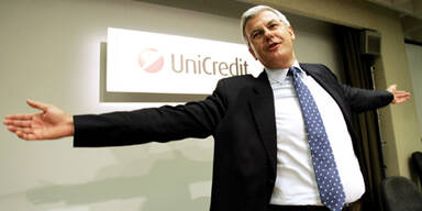 Uni-Credit Boss: 40 Mio. für Abgang