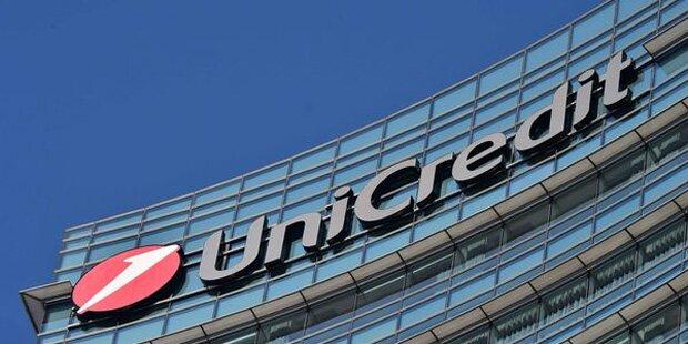 UniCredit 2016 mit 11,8 Mrd. Euro Verlust