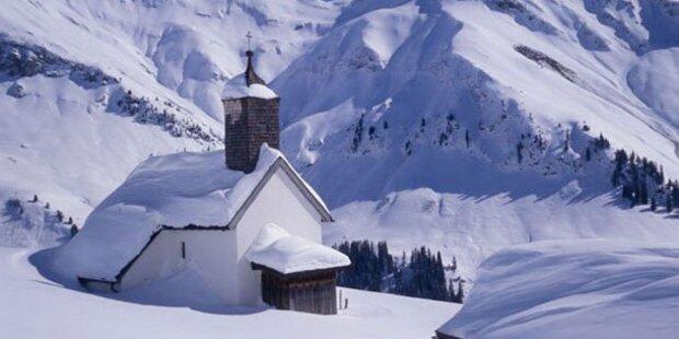 Der Arlberg im