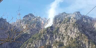 Untersberg brennt