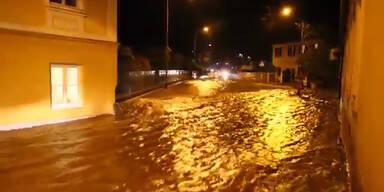 Überschwemmung: Graz steht unter Wasser