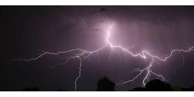 Unwetter-Alarm in Salzburg