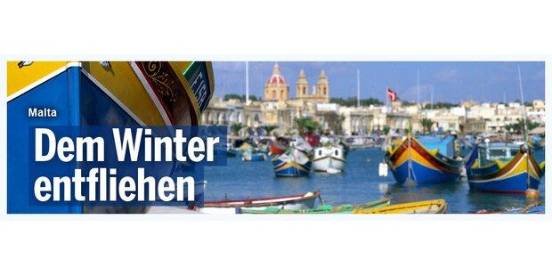 Anzeige Malta Wetter